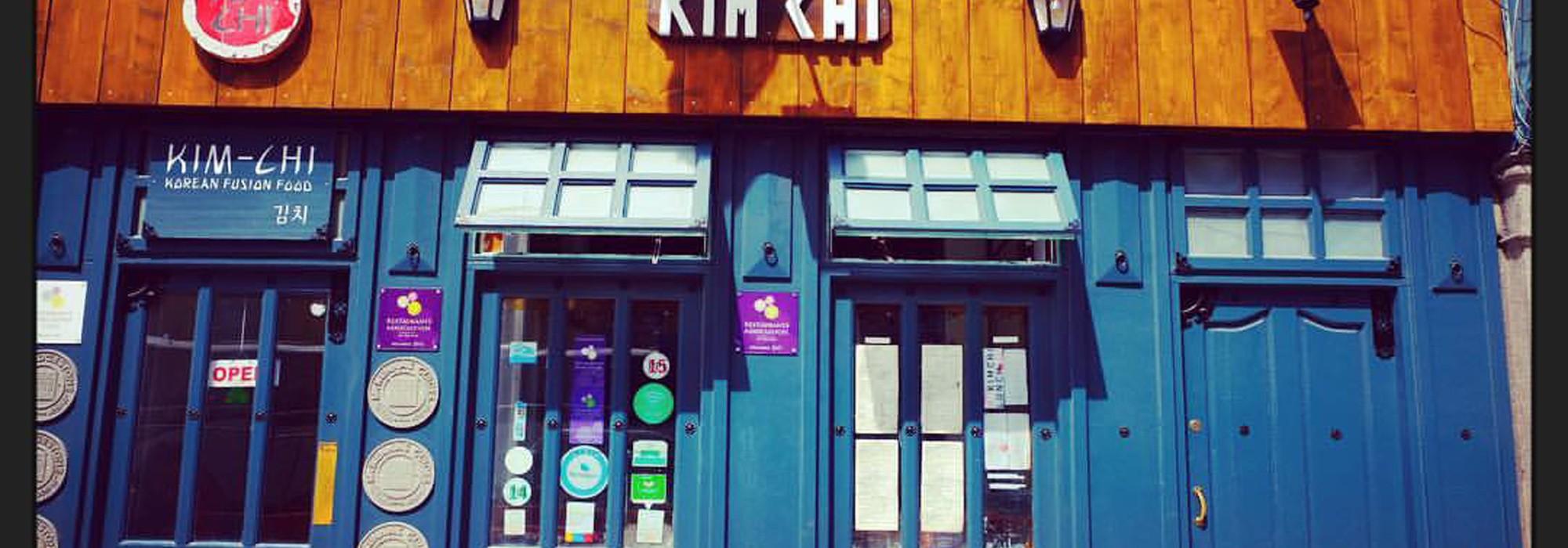 Kim Chi Hop house Front Door